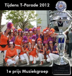 Losbandig T-parade