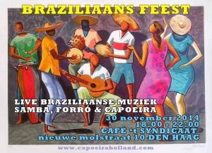 Braziliaans feest Batuque capoeira